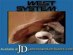 West System Fiberglass Repair Howto Part II - YouTube