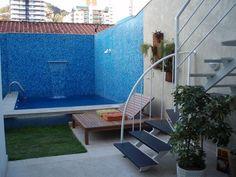 projeto piscina vinil pequena - Pesquisa Google