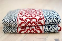 Ravelry: Project Gallery for Baby blanket White Winter/Vognteppet Hvit vinter pattern by The Needle Lady