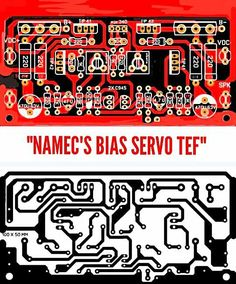 PCB Layout Design Namec Bias Servo TEF