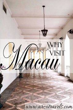 Reasons to Visit Macau - discover the lovely old part of Macau and let yourself be reminded of Portugal or go and check out the biggest casino city in the world.