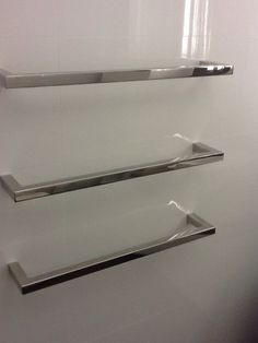 Concealed heated towel rails