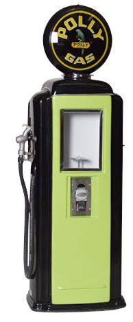 Tokheim 39 Polly Gas Pump Gumball Machines | Gas Pump Vending Machine