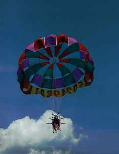 Parasailing....Done! 6/14/13 In Panama City Beach, FL