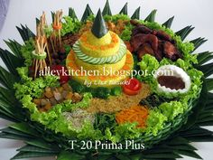 Aroma from Alley Kitchen: Tumpeng Prima + Sate Sapi Manis