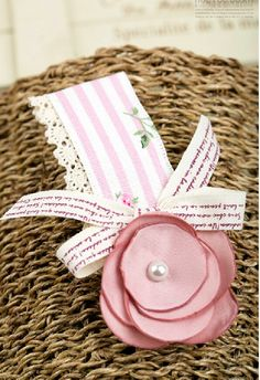 Fabric Flower Hair Clips  <possesses international patents for processing and using ultrasonic cutting devices of natural fiber>.#fabric #ribbon#Hair accessories