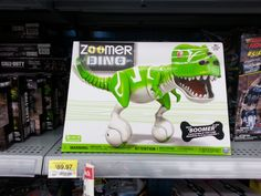 Zoomer Dino available at Walmart.#ChosenByKids