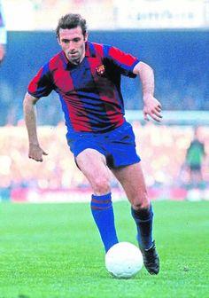"""""""Quini"""" Enrique Castro González, born 23 September 1949, Spanish striker, FC Barcelona (1980-1984)"""