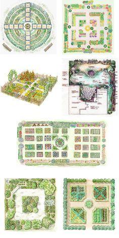 Garden on pinterest plants gardening and gardens for Kitchen garden designs