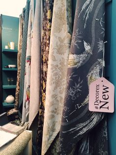 Our stand at #Decorex 2015, displaying our Wedgwood Home, Fabrics & Wallcovering collection by Blendworth