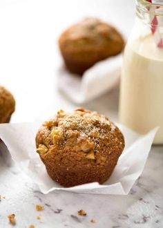 Brown Sugar Apple Muffins | RecipeTin Eats