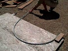 """FREE conduit tubing bender for your garden hoop houses and low tunnels  How to bend 1/2"""" and 3/4"""" EMT conduit into hoops. Really nicely  explained"""