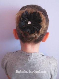 DIY Wedding Hair : DIY A Bun for Shorter Hair