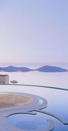 Royal Spa Private Villa in Crete Greece I can see myself there...the view, the pool and water framed by mountains.....utter bliss