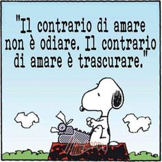 #snoopy #frasi #love #hate #odio #amore