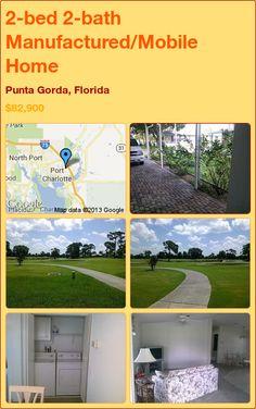 2-bed 2-bath Manufactured/Mobile Home in Punta Gorda, Florida ►$82,900 #PropertyForSale #RealEstate #Florida