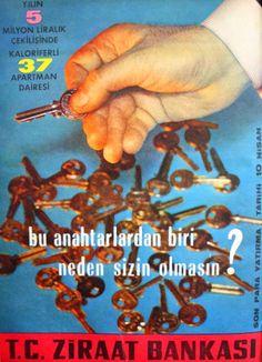 OĞUZ TOPOĞLU : ziraat bankası 1964 nostaljik eski reklamlar 3