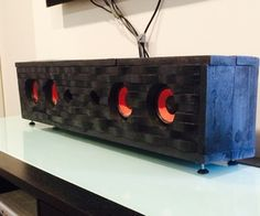 Pallet Wave Speaker Box