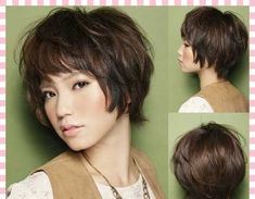 short layered hair images - Google Search