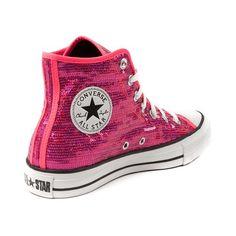 Converse All Star Hi Sequin Athletic Shoe 72363b570