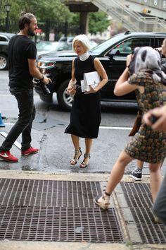 Bergdorf Goodman's Linda Fargo #NYFW
