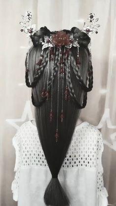 Straight Hairstyles, Braided Hairstyles, Chinese Hairstyles, Traditional Hairstyle, Hair Upstyles, Tia Mowry, Hair Videos, Hairstyles Videos, Hair Designs
