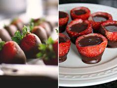 Morangos com chocolate. #casamento #noivos #DiadosNamorados #surpresa #morangos #chocolate