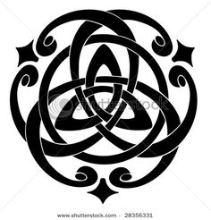 celtic knot - this would be awesome for a tattoo - even tho I'm not Irish.  :)
