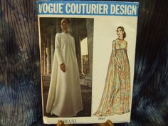 Vogue Couturier Fabiani 2537 size 14 cut by KalimahsKreationsLLC