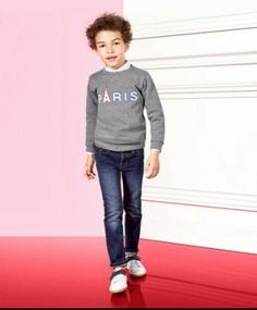 Boys' Clothing (newborn-5t) Able Jacadi Boys Chinos 12 Month Bright In Colour Clothing, Shoes & Accessories