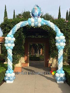 "Arco decorativo de ""Frozen"" - Frozen Decor Arch"