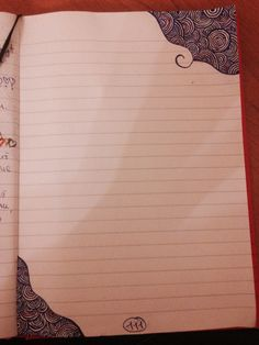 My diary pages