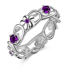 beautiful flower special Silver plated ring, silver fashion jewelry ring For Women&Men , /DSHVRXBL BXRMBUOY