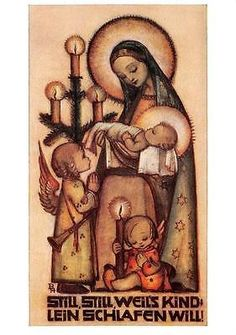 Madonna and Child by Sister Maria Innocentia Hummel