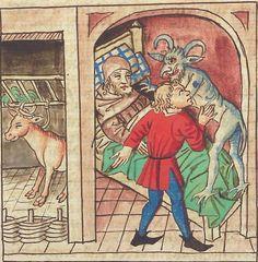 Antonius <von Pforr> Buch der Beispiele — Schwaben, um 1480/1490 Cod. Pal. germ. 85 Folio 126r