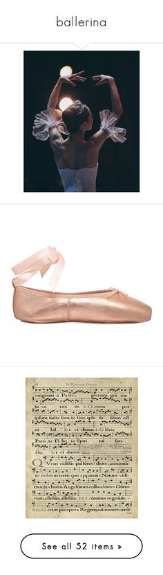 """""""ballerina"""" by madameguillotine ❤ liked on Polyvore featuring shoes, flats, ballet shoes flats, ballet flats, leather shoes, leather ballerina flats, metallic flats, home, home decor and wall art"""