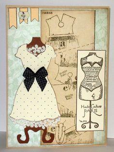 Dress Card (Stampin'Up!)