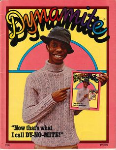 Dynomite magazine- Jimmy Walker of the tv show Good Times
