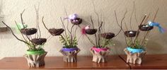 MOPS Be You Bravely 2014-2015 Leading A Craftastic Life: Nest Center Pieces