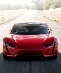Is the New Tesla Roadster the World's Fastest Production Car? Tesla S, Tesla Motors, Tesla Logo, Bugatti Veyron, New Tesla Roadster, Le Manoosh, Porsche, Toyota, New Sports Cars
