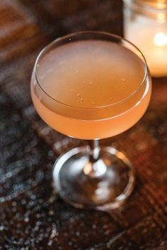 Chris Keil injects this mezcal cocktail with fresh, tangy grapefruit juice and sparkling wine. Photo by Stuart Mullenberg.