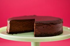 Get Anne Thornton's Deepest Darkest Chocolate Cheesecake Recipe from Food Network