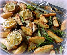 The English Kitchen: Lemon & Herb Chicken 4 Two