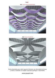 como cubrir un techo con tela - Buscar con Google