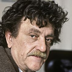 Kurt Vonnegut (11/11/22 - 4/11/2007) 20th-century American writer. His works such as Cat's Cradle, Slaughterhouse-Five, and Breakfast of Champions blend satire, gallows humor, and science fiction.