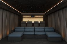 Seating behind home cinema seating, cinema seats, cinema chairs, home cinem Home Theater Room Design, Home Cinema Room, At Home Movie Theater, Home Theater Rooms, Home Cinema Seating, Cinema Chairs, Cinema Seats, Cinema Cinema, Theater Seats