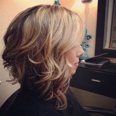 I want this, but want brown where the blond is and blond where the brown is, yay! Hope it doesn't look bad.