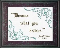 Matthew – Fulfilled Whatever we are thinking about right now is what we believe to be true as we see it from our perspective. We know who Jesus is. We know He is the Son of God. We know He di… Son Of God, Meaningful Gifts, Bible Verses, Scriptures, Jesus Quotes, Cross Stitch Designs, Custom Framing, Cross Stitch Embroidery, Custom Design