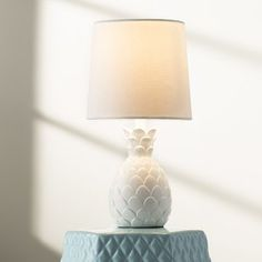 Tropical and simple with playful yet chic style, the delightful Bryan 13.5u201d Table Lamp by Viv   Rae is an essential and cute luminary perfect for your little oneu2019s bedroom. Crafted from polyresin, #luminary #perfect #cute