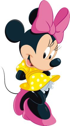 Minnie mouse 0 images about clip art disney on mickey mouse Mickey Mouse E Amigos, Mickey E Minnie Mouse, Theme Mickey, Mickey Mouse And Friends, Minnie Mouse Clipart, Minnie Mouse Stickers, Walt Disney, Disney Mickey, Disney Art